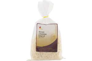 Ahold Three Cheese Blend Shredded