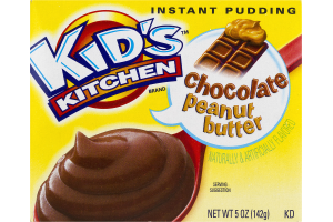 Kid's Kitchen Instant Pudding Chocolate Peanut Butter