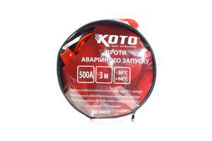 Дроти КОТО акумуляторної батареї 300А 3м ВС-30025