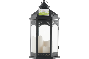 Smart Living Summer Gazebo Lantern With 3pc LED Pillar Set