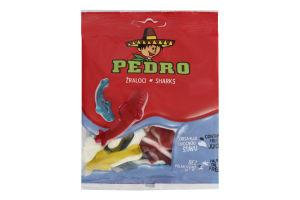 Цукерки желейні з фруктовим соком Акули Pedro м/у 80г