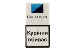 Сигареты с фильтром Aqua Super Slims Parliament 20шт