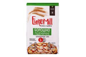 Мука пшеничная цельнозерновая EuroMill м/у 1кг