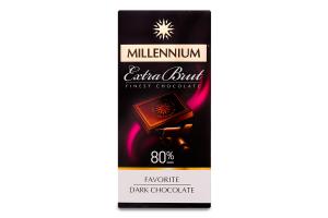 Шоколад чорний Extra Brut Millennium к/у 100г