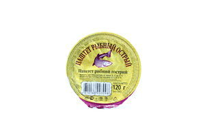 Паштет рыбный острый Санта Бремор 120г