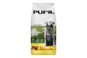 Корм для собак Pupil Prime птица-говядина сухой