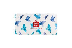 Серветки паперові косметичні Fine Life 150шт