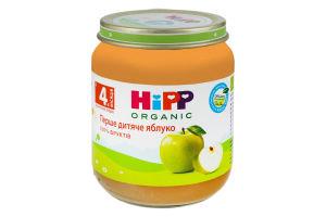 Пюре для детей от 4мес Первое детское яблоко Hipp Organic с/б 125г