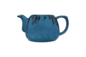 Чайник синій 950мл Тіффані Манна Груп 1шт