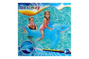 Игрушка надувная Bestway Акула с ручками 183х102см