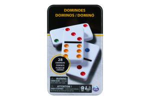 Гра настільна для дітей від 5років №SM98405/6033156 Доміно кольорове Spin Master 1шт