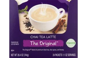 Oregon Chai Chai Tea Latte The Original Powdered Mix Packets - 24 CT