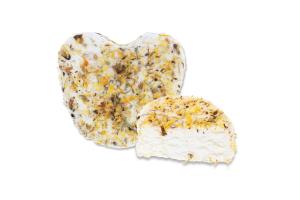 Сир 42.24% м'який з білою пліснявою Дзвінка із сіллю та нагідками Сироман кг
