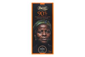 Шоколад черный Zaini 90%