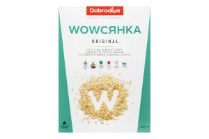 Пластівці вівсяні з цільного зерна Original Wowсянка Dobrodiya к/у 500г