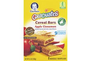 Gerber Graduates Cereal Bars Apple Cinnamon - 8 CT