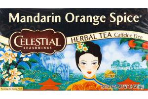 Celestial Seasonings Herbal Tea Mandarin Orange Spice - 20 CT