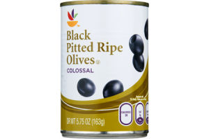 Ahold Colossal Black Pitted Ripe Olives