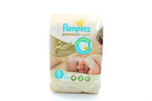 Подгузники Pampers Premium Care Ultra Junior (5) 11-25кг 21шт