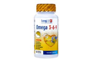 Добавка диет Long Life Omega 3-6-9