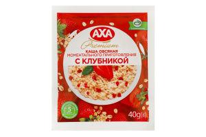 Каша овсяная с клубникой Premium Аха м/у 40г