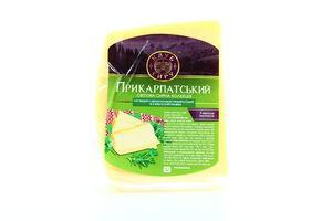 Сир Прикарпатський овечий 50% 225г Клуб сиру х20