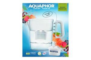 Фильтр для воды серый 2.4л №Р153В25F Аквафор 1шт