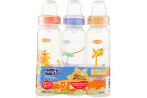 Evenflo Zoo Friends Bottles Newborn - 0-3m