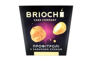 Пирожное Профитроли с заварным кремом Brioche к/у 0.18кг
