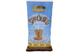 Unique Sprouted 100% Whole Grain Wheat Pretzel Shells