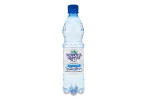 Вода питна негазована Корона Карпат п/пл 0.5л