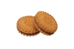 Печенье сахарное Наслаждение с шоколадно-ореховым ароматизатором Диканське кг