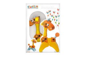 Деревянная игрушка Cubika Жираф акробат