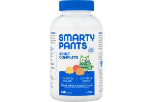 SmartyPants Adult Complete Multivitamin Gummies - 180 CT