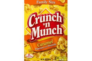 Crunch 'N Munch Popcorn with Peanuts Caramel