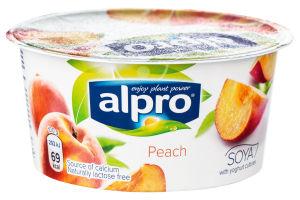 Продукт соевый ферментированный с персиком Alpro ст 150г