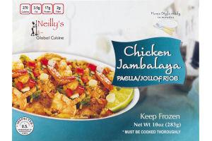 Neilly's Global Cuisine Chicken Jambalaya