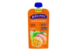 Пюре для детей от 5мес без сахара Яблоко-манго Карапуз д/п 220г