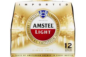 Amstel Light Lager - 12 CT