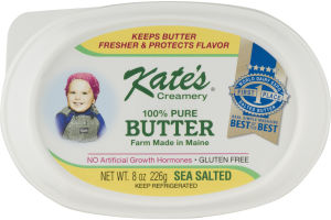Kate's Creamery 100% Pure Butter Sea Salted