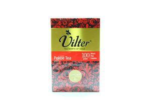 Чай черный крупнолистовой Pekoe Vilter к/у 100г