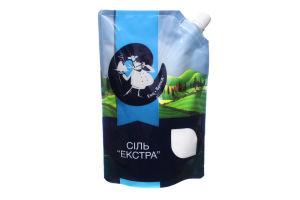 Соль поваренная выварочная Екстра Еко-Бренд д/п 600г