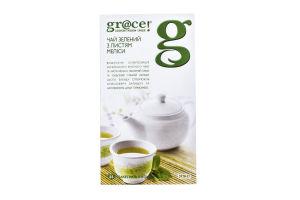 Чай зеленый с листьями мелиссы Gr@ce к/у 25х1.5г