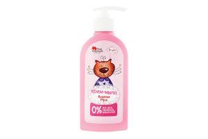 Крем-мыло для детей от 3лет Кошечка Муся Pink Elephant 250мл
