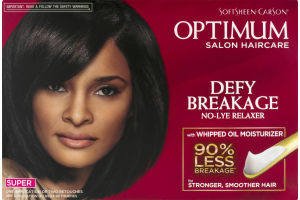 Optimum Defy Breakage No Lye Relaxer with Whipped Oil Moisturizer