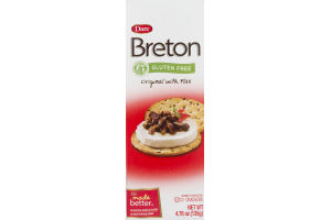 Dare Breton Crackers Original With Flax