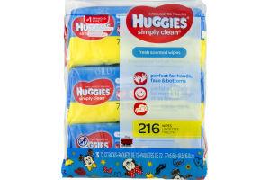 Huggies Wipes Simply Clean Disney - 3 PK
