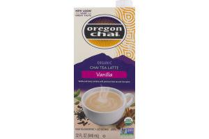 Oregon Chai Organic Chai Tea Latte Vanilla