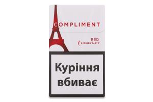 Сигарети з фільтром Compliment Red 20шт