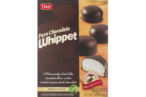 Dare Pure Chocolate Whippet Cookies Original